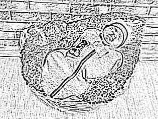 Пеленка-кокон на молнии для новорожденных