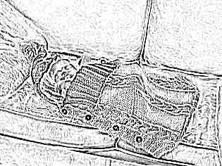 Вязаный спальный мешок для новорожденных своими руками