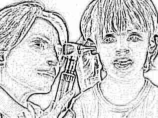 Во время простуды заболело ухо у ребенка