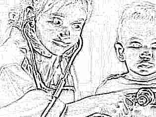 Нормы размера лоханки у детей до года
