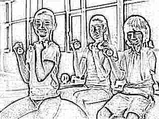 Упражнение с гантелями ребенку 5 лет