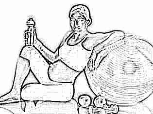 Когда начинает расти живот при беременности у полных