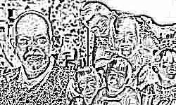 Папа-одиночка усыновил пятерых детей-инвалидов