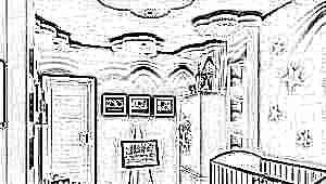 Какой потолок лучше сделать в детской комнате?