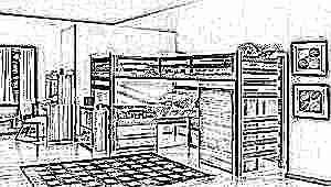 Выбираем кровать для троих детей