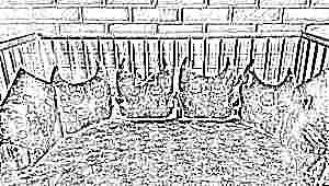 Бортики в кроватку для детей
