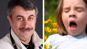 Доктор Комаровский об аллергии у детей