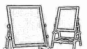 Магнитно-маркерный двухсторонний детский мольберт: правила выбора