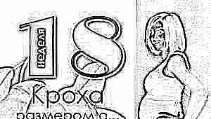 18 неделя беременности: что происходит с плодом и будущей мамой?