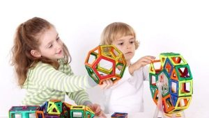 Магнитные конструкторы 3D