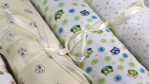 Трикотажные пеленки для новорожденных: характеристика, выбор и применение