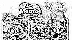 Особенности и размерный ряд подгузников Merries