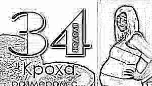 Вес и другие параметры плода на 34 неделе беременности