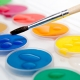 Краски для рисования: виды и характеристики