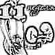 Развитие плода на 11 неделе беременности