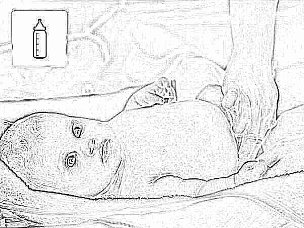 Почему у новорожденного жидкий стул (водянистый, желтый и со слизью)