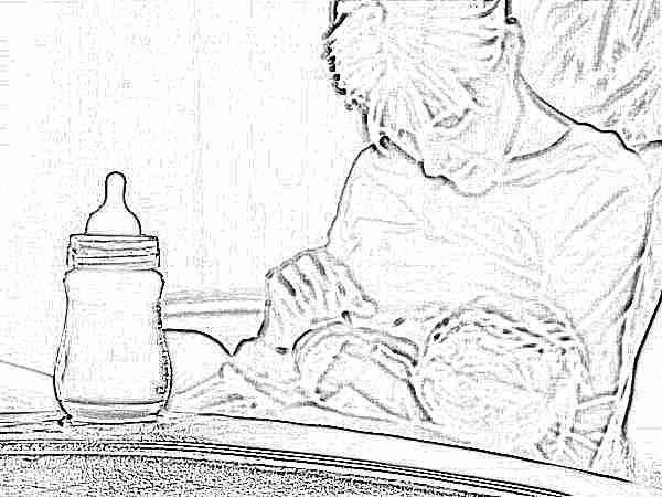 Смешанное вскармливание новорожденных: как правильно кормить, график