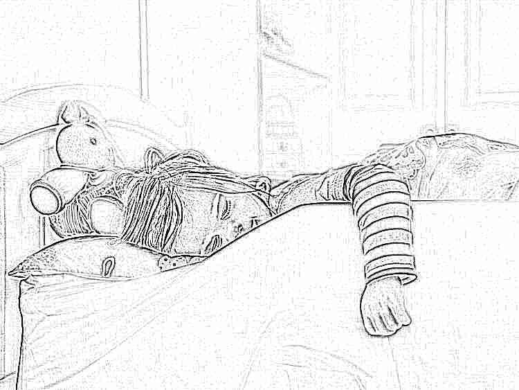 Как отучить спать ребенка