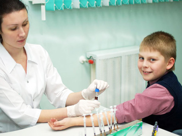 Анализ крови на аллергию у ребенка