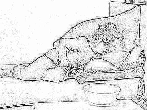 Рвота у ребенка: о чем говорит коричневый цвет?