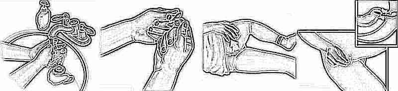 Как вставить свечку ребенку