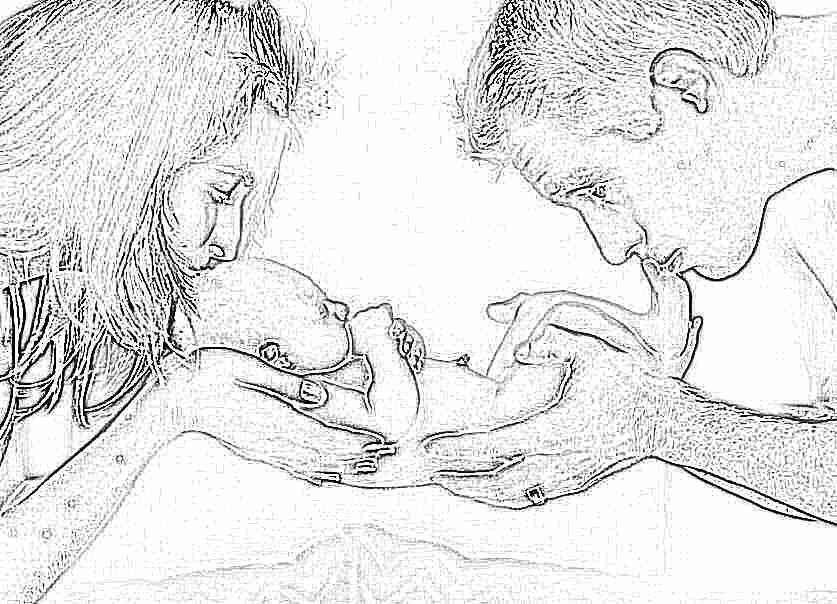 Уход за новорожденным мальчиком и девочкой в первый месяц жизни