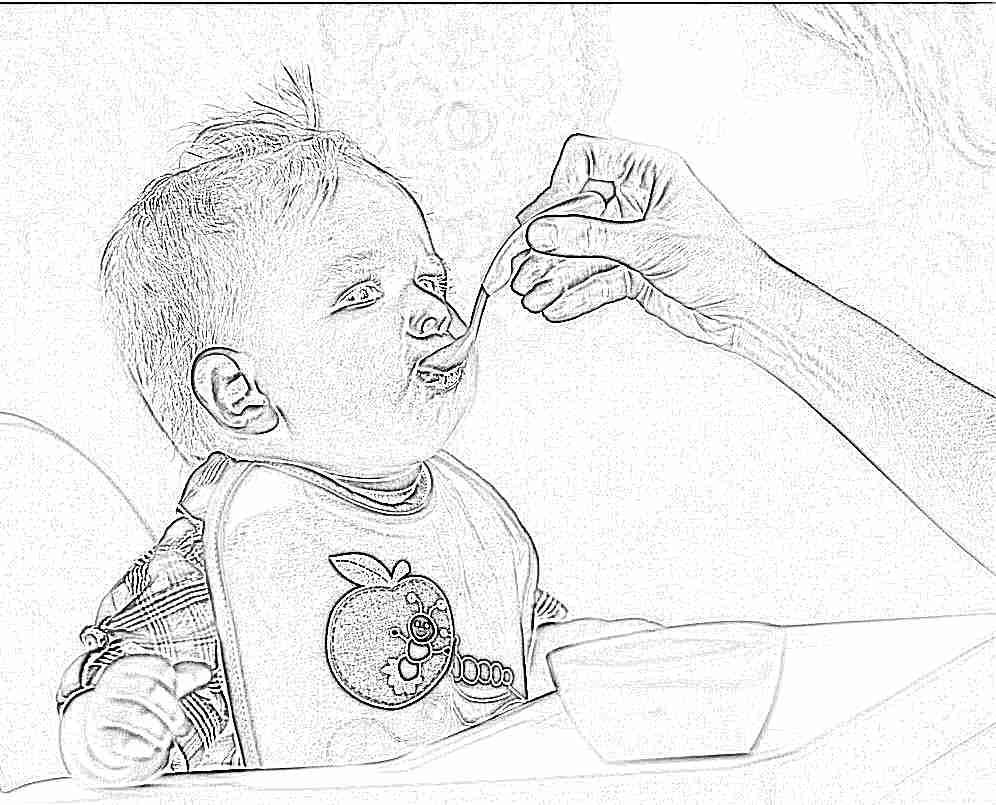 схема кормлегния малыша в 2 месяца
