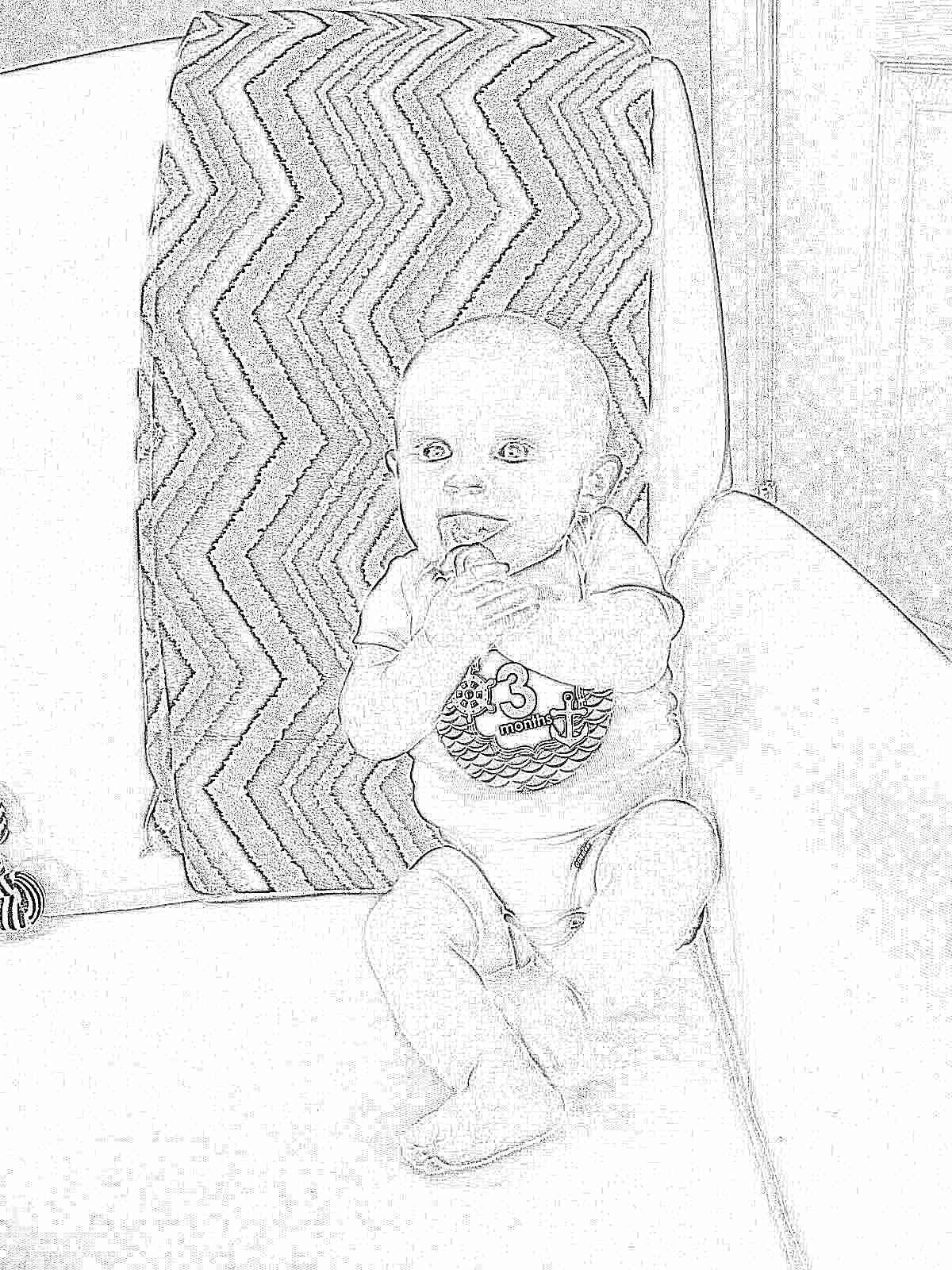 Развитие ребенка от 3 до 6 месяцев