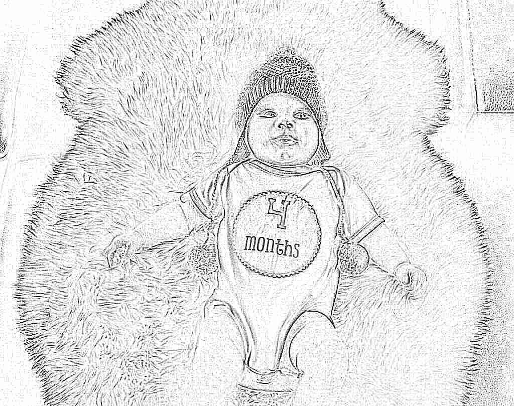 Полноценное развитие ребенка четвертого месяца жизни