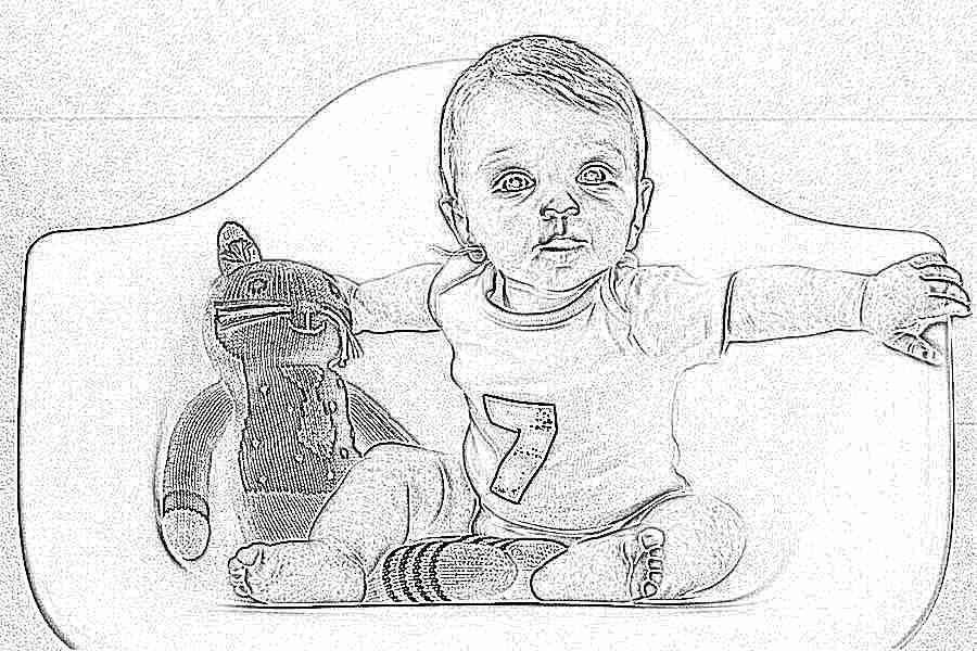 Развитие ребёнка в 7 меясцев