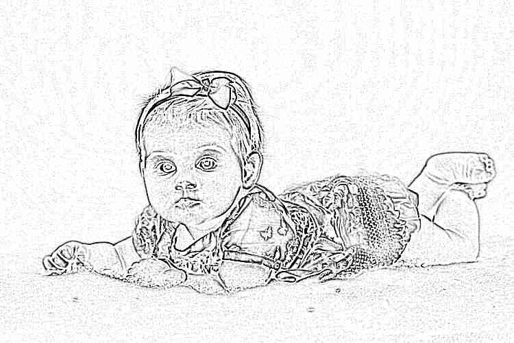 8 месяцев девочке картинки
