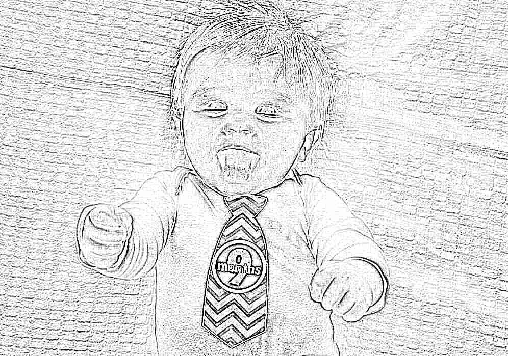 ребенок фото 9 месяцев