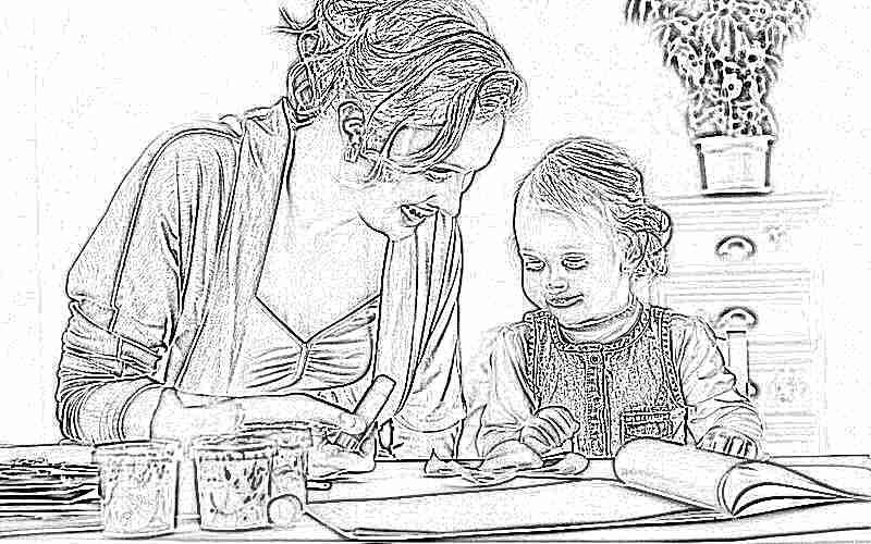 Мамы : картинки и фотография мама с ребенком, скачать рисунки на