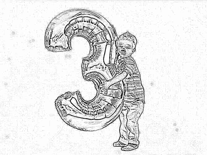 Развитие ребенка три года