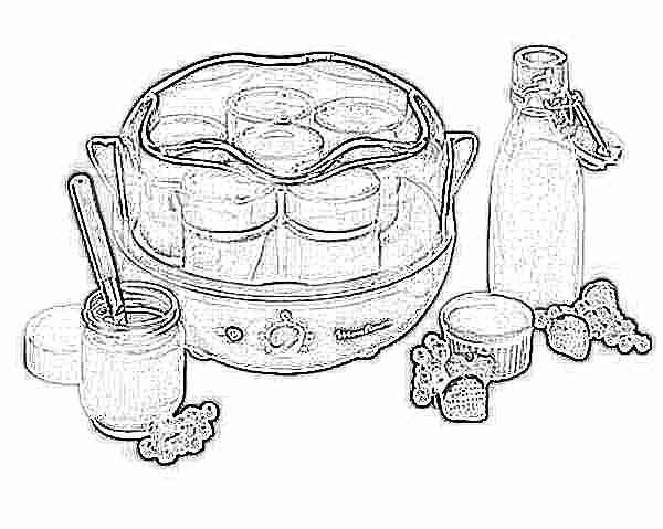 Йогурт в домашних условиях с закваской йогурт