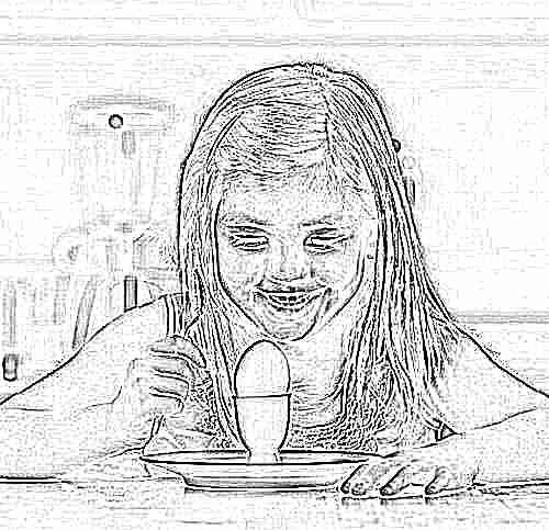 Ребенку яйцо