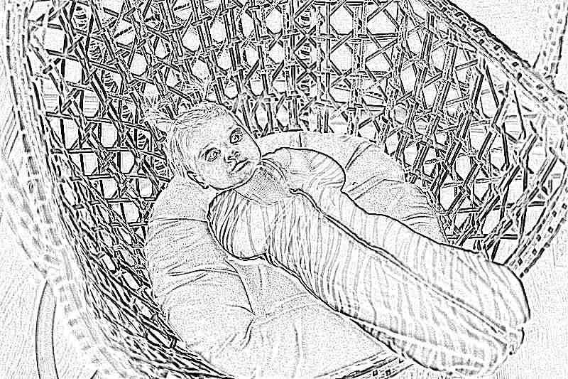 Кокон гнездо для новорожденного своими руками 4