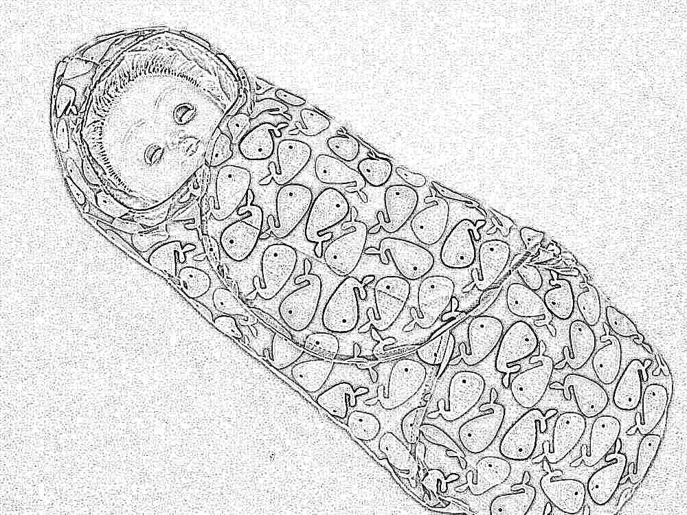 Конверт кокон для новорожденного своими руками фото 465