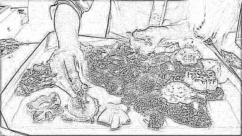 Космический песок мой ребенок