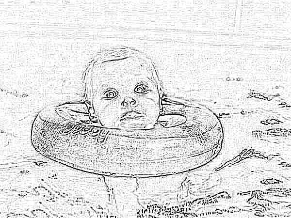 С какого возраста можно купать в круге