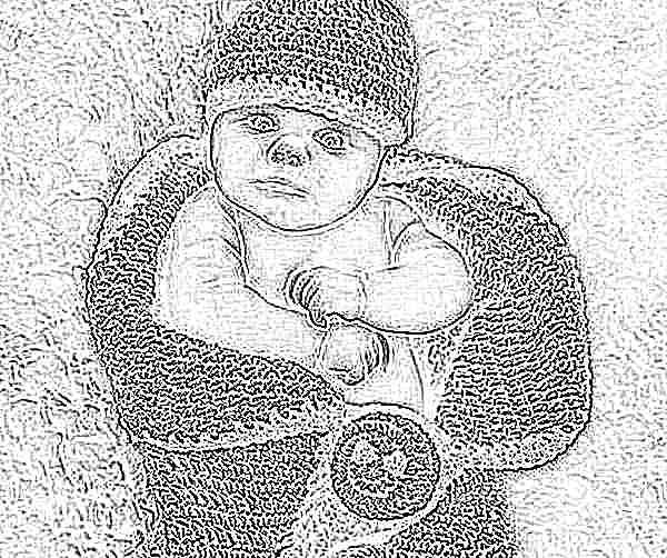 Кокон для новорожденных своими руками вязать