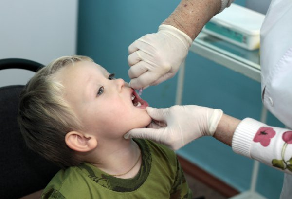 Прививка против полиомиелита реакция