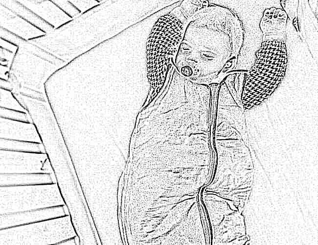 Спальный зимний мешок для новорожденных своими руками фото 310