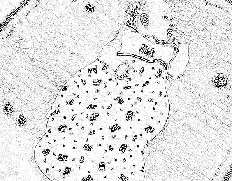 Спальный зимний мешок для новорожденных своими руками фото 57