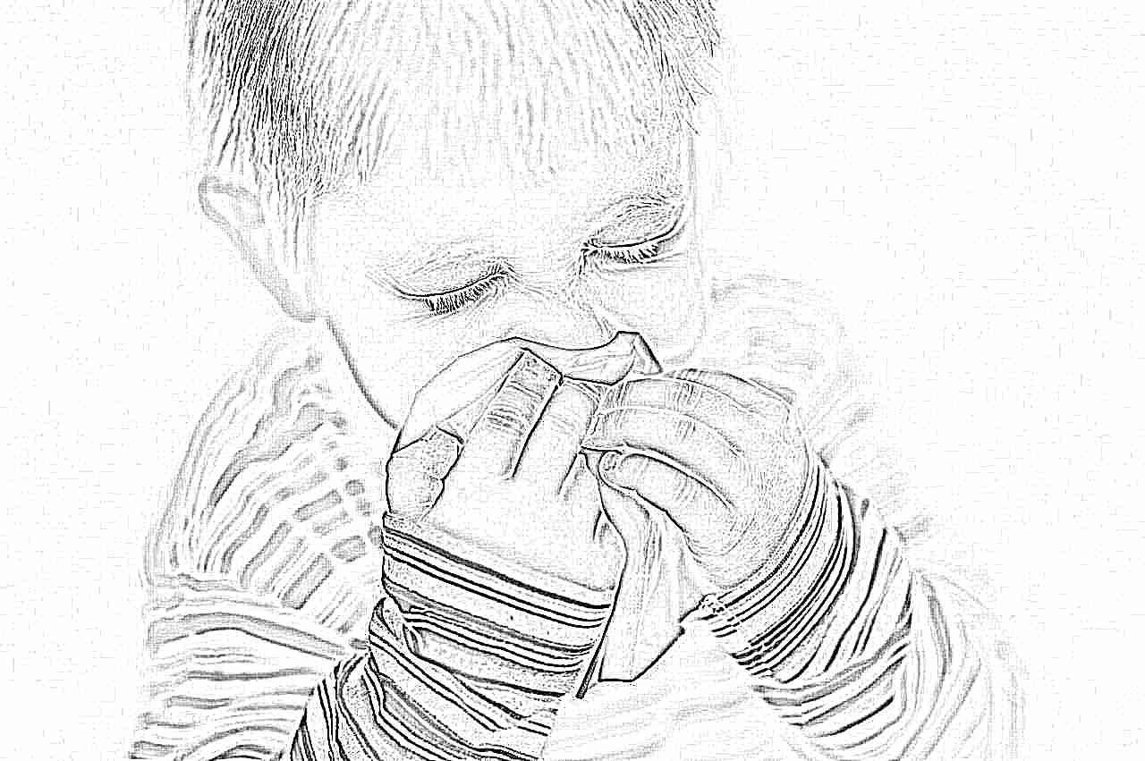 Ребенок не умеет сморкаться как лечить насморк