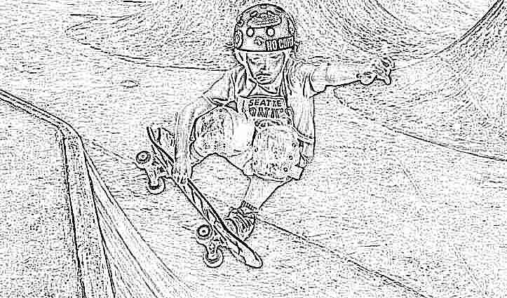 learn to ride a skateboard