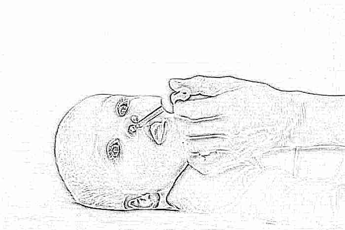 Капли в нос ребенку от насморка