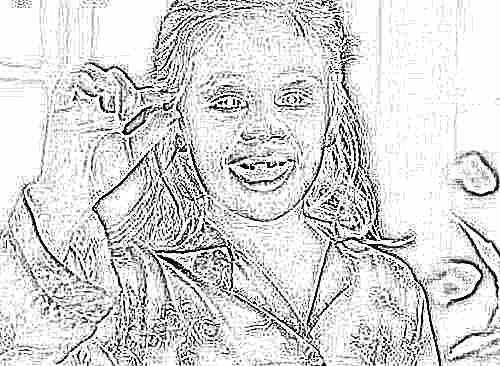 После удаления молочного зуба