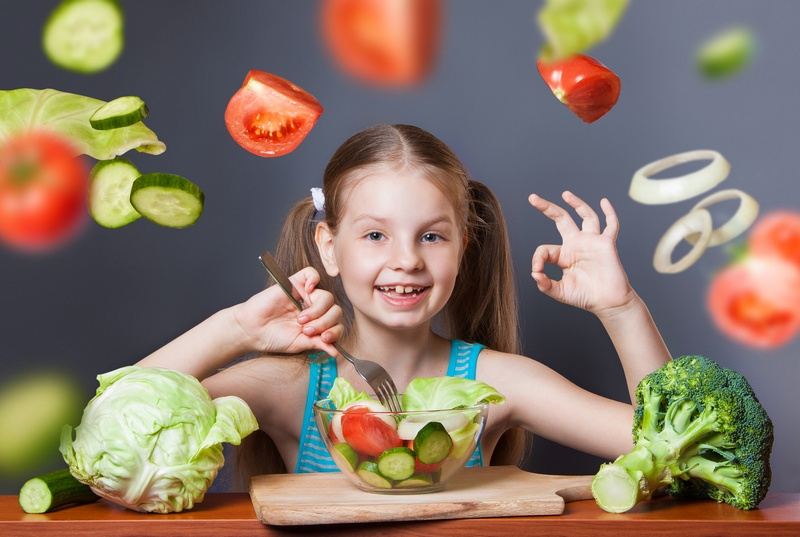 Детские витамины в овощах