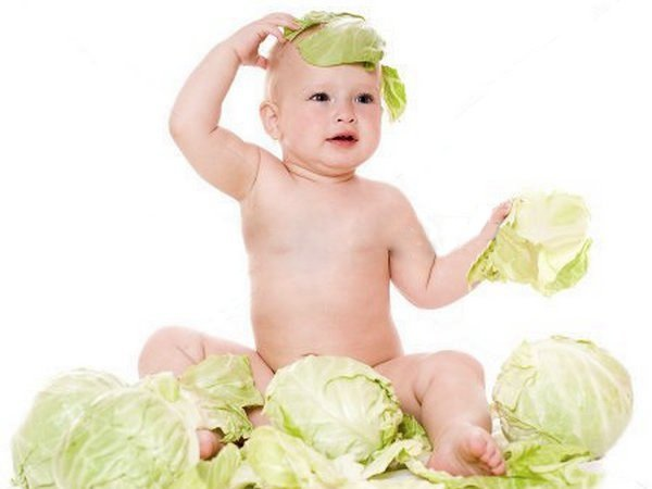 когда можно давать капусту белокочанную ребенку